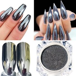 $enCountryForm.capitalKeyWord Australia - Hot Sale Mirror DIY Nail Polish Plating Silver Red Paste Metal Color Gel Stainless Steel manicure nail art decorations