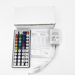 $enCountryForm.capitalKeyWord Australia - DC12V 6A 44Key RGB IR Remote Controller LED Lights Controller Dimmer For SMD 3528 5050 2835 3014 Strip White box packaging two sets