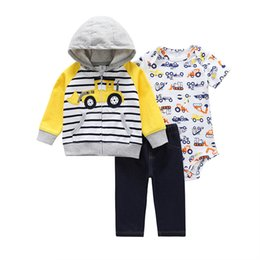 0238fbb77 brand Autumn Winter spring infant baby girls boys outfit set children  toddler clothes baby products bodysuit baby carter 2 Pieces outfit