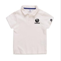 baby boy polo Australia - New 2020 High Quality New Hot Baby Boys Polo Shirt Children 'S Clothing Summer Clothes Baby Kids Child Brand Cotton Short Polo Shirt