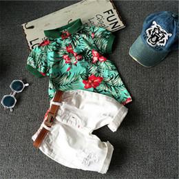 Microfiber Sport Clothes Australia - Hot sale! Summer style Children clothing sets Baby boys girls t shirts + shorts pants sports suit kids clothes