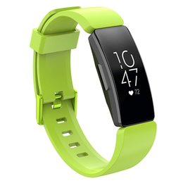 Watch Bracelet Size UK - Replacement Classic Silicone Band Strap Wristband Bracelet For Fitbit inspire inspire HR Watch Band Small And Large Size