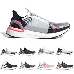 42789234bcb Discount running shoes Cloud White Black Ultra boost 2019 Ultraboost mens Running  shoes Dark Pixel Refract
