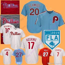 PhiladelPhia jersey throwback online shopping - Custom Philadelphia Phillies  Jersey Bryce JT Realmuto Harper Segura Kingery adcc172f30e