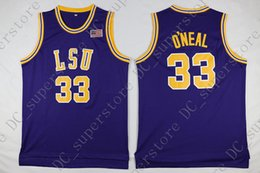 f274010af904 Cheap custom  33 LSU Tigers Basketball Vintage Jersey Purple Yellow Stitched  Customize any name number MEN WOMEN YOUTH JERSEY XS-5XL lsu basketball  jersey ...