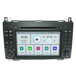 Stereo Gps Mercedes Australia - COIKA Quad-Core Android 9.0 System Car DVD Head Unit For Mercedes-Benz B200 W906 W209 W311 W315 W169 GPS Navi BT 2G RAM 16G ROM
