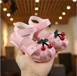 $enCountryForm.capitalKeyWord Australia - 2019 summer new Korean girls sandals little princess baotou soft bottom children's sandals baby shoes