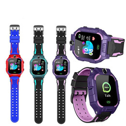 gps tracker kids wholesale NZ - Z6 Children Kids Smart Watch IP67 Waterproof 2G SIM Card GPS Tracker Camera SOS Call Location Reminder Anti-Lost For IOS Android PK Q50 Q12