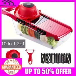 Kitchen blades online shopping - HOT Sale in1 Mandoline Slicer Vegetable Grater Cutter With Stainless Steel Blade Kitchen Accessories Gadget Christmas Gift
