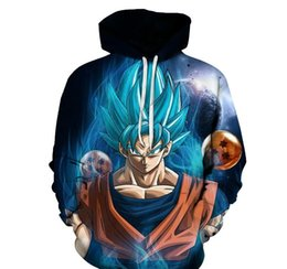 belt men z 2019 - Anime Hoodies Z Pocket Hooded Sweatshirts Kid Goku 3D Hoodies Pullovers Men Women Long Sleeve Outerwear New Hoodie cheap