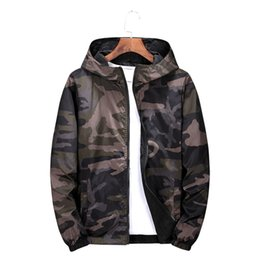 $enCountryForm.capitalKeyWord Australia - Jacket hoodies zipper Camouflage Both Side Wear Pilot Mens jackets coat Bomber Men Wind Breaker Outerwear Large size 6XL 7XL 8XL