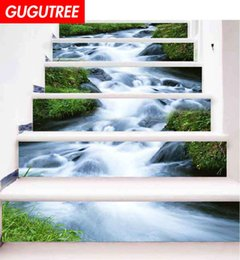 $enCountryForm.capitalKeyWord NZ - Decorate Home 3D waterfall cartoon art wall Stair sticker decoration Decals mural painting Removable Decor Wallpaper G-650