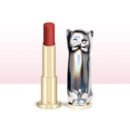 $enCountryForm.capitalKeyWord UK - Cute Cat Matte Lipstick Long Lasting Waterproof Korean Lipsticks Lip Cosmetics Velvet Red Nude Women Makeup