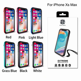 Iphone plus waterproof online shopping - Shellbox Waterproof Case For Iphone X XR XS Max Plus Samsung Galaxy S10 E Huawei water Shock proof cover cases