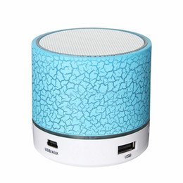 $enCountryForm.capitalKeyWord Australia - A9 Bluetooth Speaker crack design with Light LED wireless speaker TF USB FM portable music microphone hands-free calling