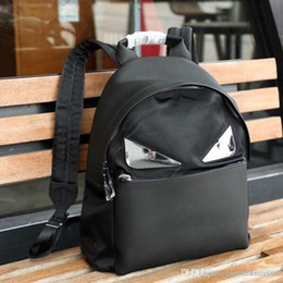 small leather backpacks Australia - Classic Fashion New Small Monster Men's Shoulder Bag Designer Luxury Leather Making Metal Mirror Recreational Men's Backpack NB:61