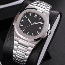19 colors mens luxury watch automatic movement Glide sooth second hand sapphire glass silver and gold wristwatch on Sale