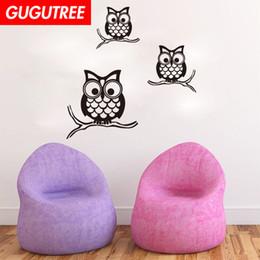 $enCountryForm.capitalKeyWord Australia - Decorate Home owl bird cartoon art wall sticker decoration Decals mural painting Removable Decor Wallpaper G-2025
