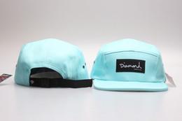 $enCountryForm.capitalKeyWord Australia - Light Blue Strapback 5 Panel Diamond Supply Co Snapback hats Brand classic men & women\'s designer baseball adjustable sports hats YP_4235
