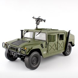 $enCountryForm.capitalKeyWord Australia - Alloy Diecast For Hummer Tactical Vehicle 1:18 Military Armored Car Diecast Model With 5 Door Opened Hobby Toy For Kids Birthday J190525