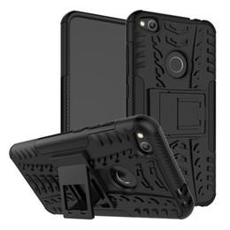 Projeto à prova de choque da armadura do caso do telefone da tampa traseira para Huawei P8 Lite 2017 em Promoção