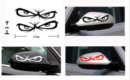 $enCountryForm.capitalKeyWord Australia - Waterproof car Stickers of rearview mirror Animation Eyes ,DIY easily
