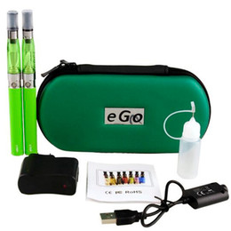 vaporizer e pen ego t ce4 UK - Ego-t double starter kits electronic cigarette ego CE4 510 battery e cigarette vape pen vaporizer for e liquid ce4 tank smoking vape mod