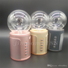 $enCountryForm.capitalKeyWord Australia - P2 magic ball nightlight touch wireless Bluetooth speaker soundcard colorful light SP2 negative ion induced current subwoofer card 7-YX