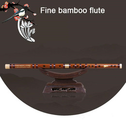 Wholesale High Quality Bamboo Flute Professional Woodwind Flutes Musical instruments C D E F G Key Chinese dizi Transversal Flauta Children's gift