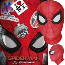 $enCountryForm.capitalKeyWord Australia - Spider-Man: Far From Home Peter Parker Mask Lenses 3D Cosplay Spiderman Superhero Props Masks