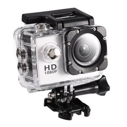 Outdoor Professional Sporting Camcorder Australia - 720P Action Camera Waterproof 30m Outdoor Sports Video DV Camera 1080P Full HD LCD Mini Camcorder with 900mAh Batteries(white)