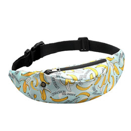 printed waist bag Australia - Belt waist Packs fanny Bag 3D Colorful Print women Bags girls Hip Money Travelling Mountaineering Mobile Phone A30