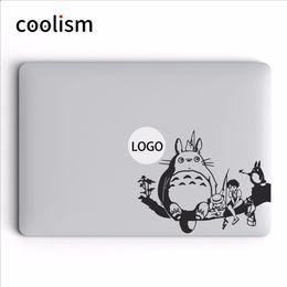 $enCountryForm.capitalKeyWord Australia - Totoro Family Anime Vinyl Decal Laptop Sticker For Macbook Air Pro Retina Mac 11 12 13 15 Inch Mac Surface Hp Mi Notebook Skin T6190615