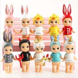 Foam Figures Australia - 8-10cm Sonny Angel Figure Toy Kewpie Doll Baby Model Dolls Gift for Children Valentine's Day Gift free shipping