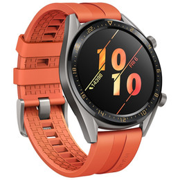 android gps tracker NZ - Original Huawei Watch GT Smart Watch With GPS NFC Heart Rate Monitor 5 ATM Waterproof Wristwatch Sport Tracker Watch For Android iPhone iOS