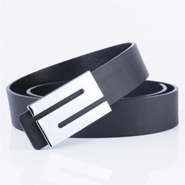 leather strap s NZ - New Men PU Leather Belts for Student Male S Buckle Strap Belt Waistband Top Quality Waist Belts for Pants ceinture homme
