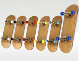 $enCountryForm.capitalKeyWord Australia - Professional bearing wheel PU anti-skid pad Maple finger skateboard novelty desktop children's toys complete accessories