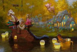 $enCountryForm.capitalKeyWord Australia - Modern Art Victor Nizovtsev Canvas Prints oil painting Kids Room Christmas Decorations Wall Picture best Christmas gift vk 65