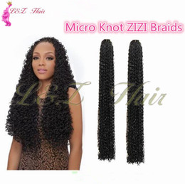 Curl Kinky Crochet Hair Australia - 24inch S-curl ZIZI synthetic braiding hair freetress kinky curly Russia braid hair 24inch Crochet Braids curly Micro Knot zizi Freetress