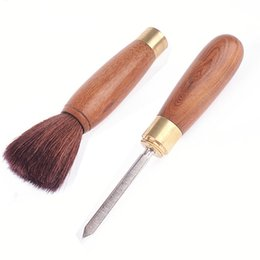 $enCountryForm.capitalKeyWord NZ - Preference Natural Wood Tea Sets Brush Kungfu Teapot Tea Tray Cleaning Tools Stainless Puerh Tea Knife Needle Accessories Two-In-One