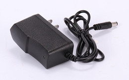 Wholesale High Quality 100-240V to 9V 1A Power Adapter Supply 9 V daptor EU   US Plug DHL free shipping IC Protection
