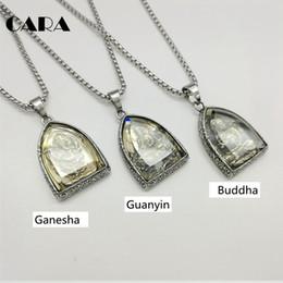 $enCountryForm.capitalKeyWord UK - 2019 New Statement Vintage Pendant Buddhist Buddha Religious Stainless Steel Necklace Jewelry Cagf0313 J190615