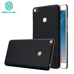Wholesale original nillkin case resale online - Mi Max phone case Original NILLKIN Super Frosted Shield hard back phone case for Xiaomi Mi Max2 max case with gift