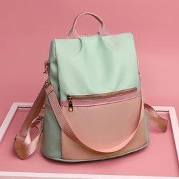 Mochila feMinina bag online shopping - 2019 New Oxford cloth waterproof student bag Travel casual backpack women outdoor bag mochila feminina May6