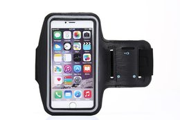 Running band cell phone online shopping - New Waterproof Sports Running Case Workout Holder Pouch For Iphone Cell Phone Arm Bag Band GYM inches
