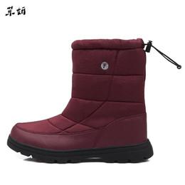$enCountryForm.capitalKeyWord Australia - New Roman Men Shoes Winter Solid Waterproof Snow Plus Size 36~46 Brand Unsex Style Warm Male Platform Boots