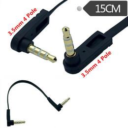 $enCountryForm.capitalKeyWord Australia - 15CM 3.5mm right angle mini plug stereo audio Headphone Extension cable