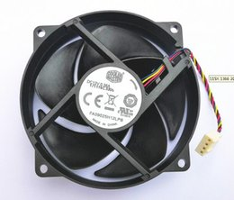 Circular Case Australia - Authentic 9025 9CM 12V 0.36A FA09025H12LPB Circular CPU Fan 4-wire Temperature Controlled Mute Fan