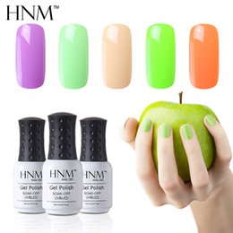 yellow turquoise stone 2021 - HNM 8ML Nail Polish 194 Color Nail Varnish Top Base Primer Hybrid Semi Permanent Paint Gellak Lucky Lacquer Stamping Ena