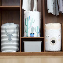 $enCountryForm.capitalKeyWord NZ - Vogvigo Plant Animal Cloth Drawstring Storage Bags Organiser Draw Pocket Home Living Folding Closet Storage Travel Organizer